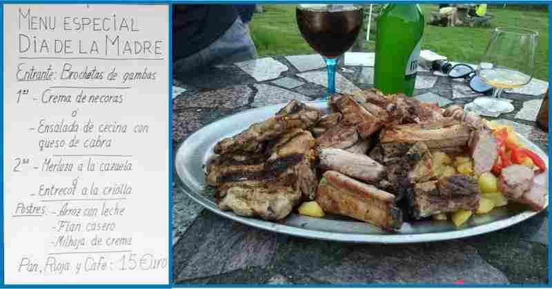 La especialidad del Monteviejo son sus carnes a la parrilla, aun que también tienes menús y carta